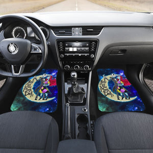 Jack & Sally The Nightmare Before Christmas Car Floor Mats H041420 Universal Fit 084218 - CarInspirations