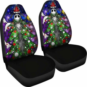 Jack Skellington Car Seat Covers 3 Universal Fit 051012 - CarInspirations