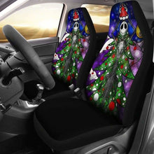 Load image into Gallery viewer, Jack Skellington Car Seat Covers 3 Universal Fit 051012 - CarInspirations