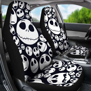 Jack Skellington Car Seat Covers 7 Universal Fit 051012 - CarInspirations