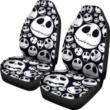 Load image into Gallery viewer, Jack Skellington Car Seat Covers 7 Universal Fit 051012 - CarInspirations