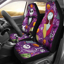Load image into Gallery viewer, Jack Skellington Sally 2019 Car Seat Covers Universal Fit 051012 - CarInspirations