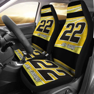 Joey Logano Car Seat Covers Universal Fit 051012 - CarInspirations