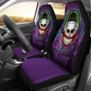 Joker Car Seat Covers Universal Fit 051312 - CarInspirations
