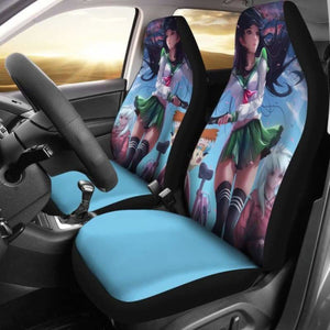 Kagome Inuyasha Car Seat Covers Universal Fit 051312 - CarInspirations