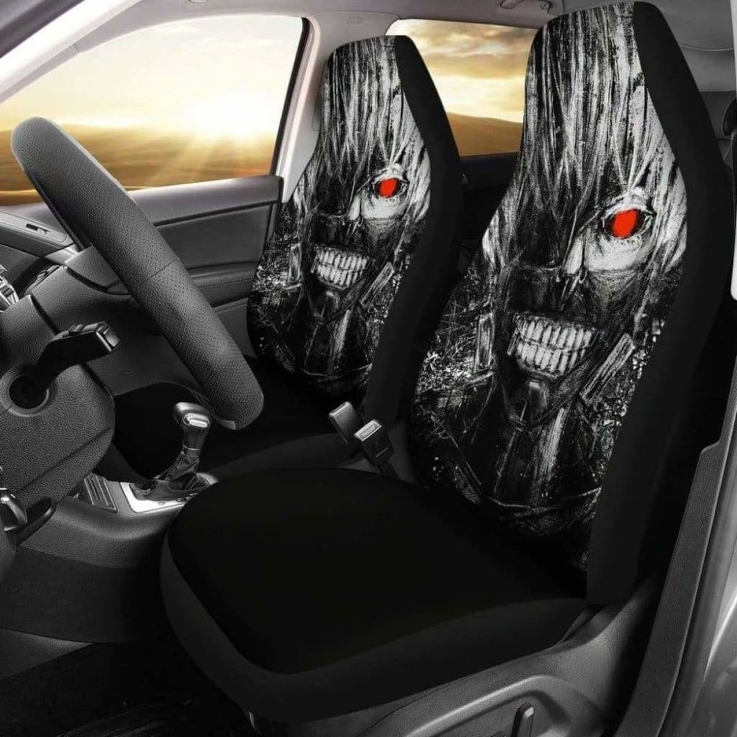 Ken Kaneki Car Seat Covers Universal Fit 051012 - CarInspirations