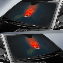 Load image into Gallery viewer, Koi Fish 3D Car Sun Shades 918b Universal Fit - CarInspirations
