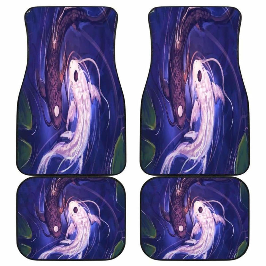 Koi Jing Jang Car Floor Mats Universal Fit - CarInspirations