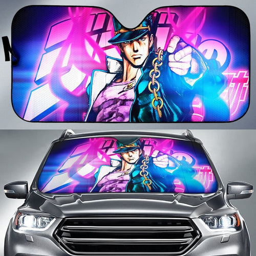 Kujo Jotaro Art Car Sun Shades JoJo's Bizarre Adventure Universal Fit 210212 - CarInspirations