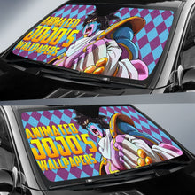 Load image into Gallery viewer, Kujo Jotaro Car Sun Shades JoJo's Bizarre Adventure Universal Fit 210212 - CarInspirations