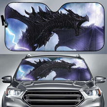 Load image into Gallery viewer, Kyrim Dragon Alduin Auto Sun Shades 918b Universal Fit - CarInspirations