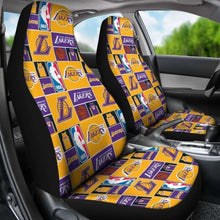 Load image into Gallery viewer, Lakers Art Patterns Car Seat Covers Universal Fit 051012 - CarInspirations