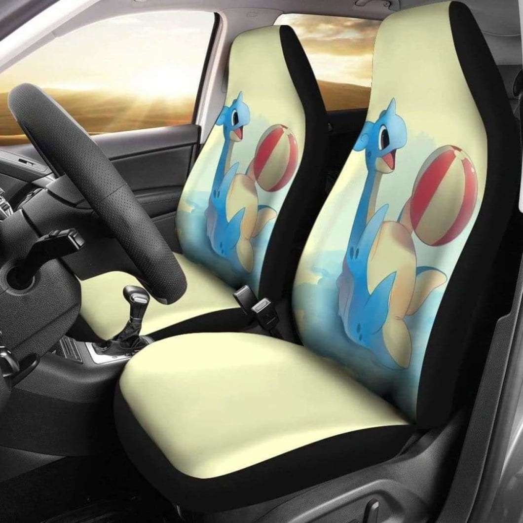 Lapras Plays Ball Car Seat Covers Universal Fit 051012 - CarInspirations