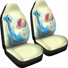 Load image into Gallery viewer, Lapras Plays Ball Car Seat Covers Universal Fit 051012 - CarInspirations