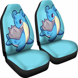 Lapras Pokemon Car Seat Covers Universal Fit 051012 - CarInspirations