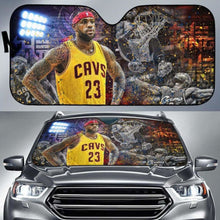 Load image into Gallery viewer, LeBron James Car Auto Sun Shade 211626 Universal Fit - CarInspirations