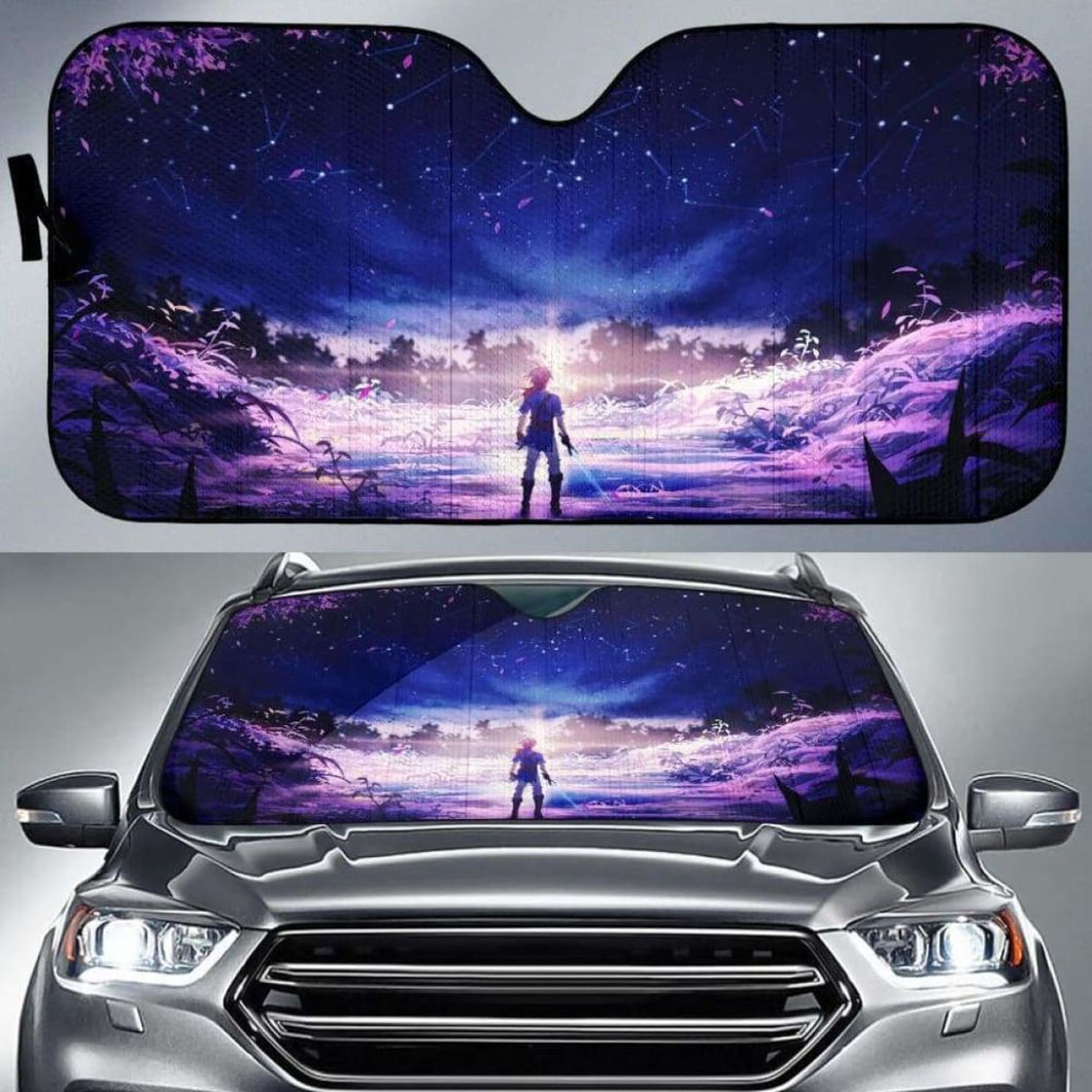 Legend Of Zelda Car Auto Sun Shades 9 Universal Fit 051312 - CarInspirations