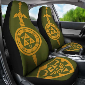Legend Of Zelda Car Seat Covers 2 Universal Fit 051012 - CarInspirations