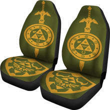 Load image into Gallery viewer, Legend Of Zelda Car Seat Covers 2 Universal Fit 051012 - CarInspirations