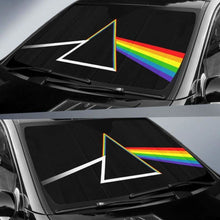 Load image into Gallery viewer, LGBT Flag Car Sun Shades 918b Universal Fit - CarInspirations