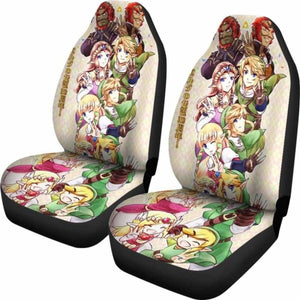 Link And Zelda Car Seat Covers Universal Fit 051012 - CarInspirations