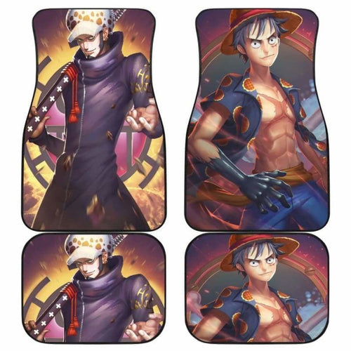 Luffy Law One Piece Car Floor Mats Universal Fit 051912 - CarInspirations