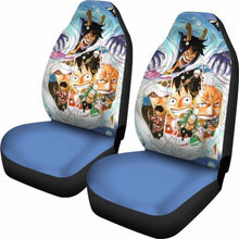 Load image into Gallery viewer, Luffy Law One Piece Car Seat Covers Universal Fit 051312 - CarInspirations