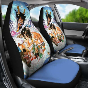 Luffy Law One Piece Car Seat Covers Universal Fit 051312 - CarInspirations