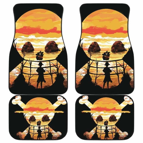 Luffy One Piece Car Floor Mats Universal Fit 051912 - CarInspirations