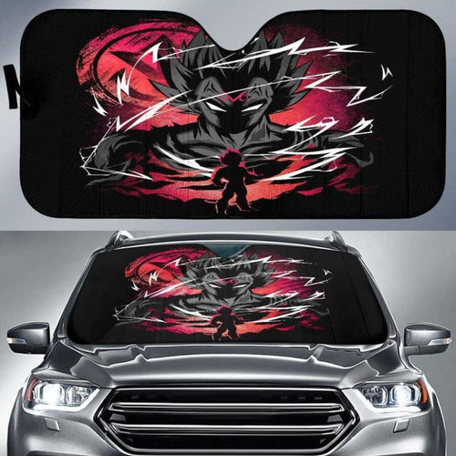 Majin Vegeta Car Auto Sun Shades Universal Fit 051312 - CarInspirations