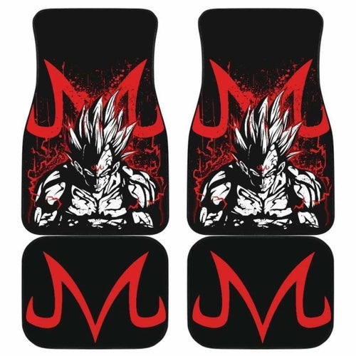 Majin Vegeta Dragon Ball Car Floor Mats Universal Fit 051912 - CarInspirations