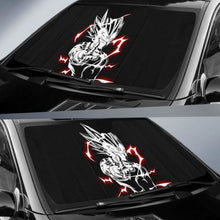 Load image into Gallery viewer, Majin Vegeta New Car Sun Shades 918b Universal Fit - CarInspirations