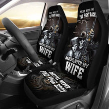 Load image into Gallery viewer, Mess With Car Seat Covers (Set of 2) Universal Fit - CarInspirations