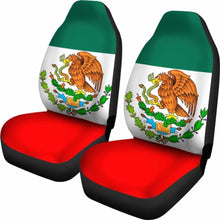 Load image into Gallery viewer, Mexico Flag Car Seat Covers 100421 Universal Fit - CarInspirations