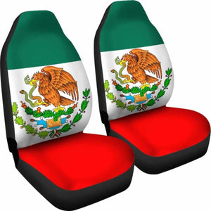 Mexico Flag Car Seat Covers 100421 Universal Fit - CarInspirations