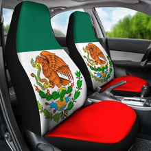 Load image into Gallery viewer, Mexico Flag Car Seat Covers Universal Fit 051012 - CarInspirations