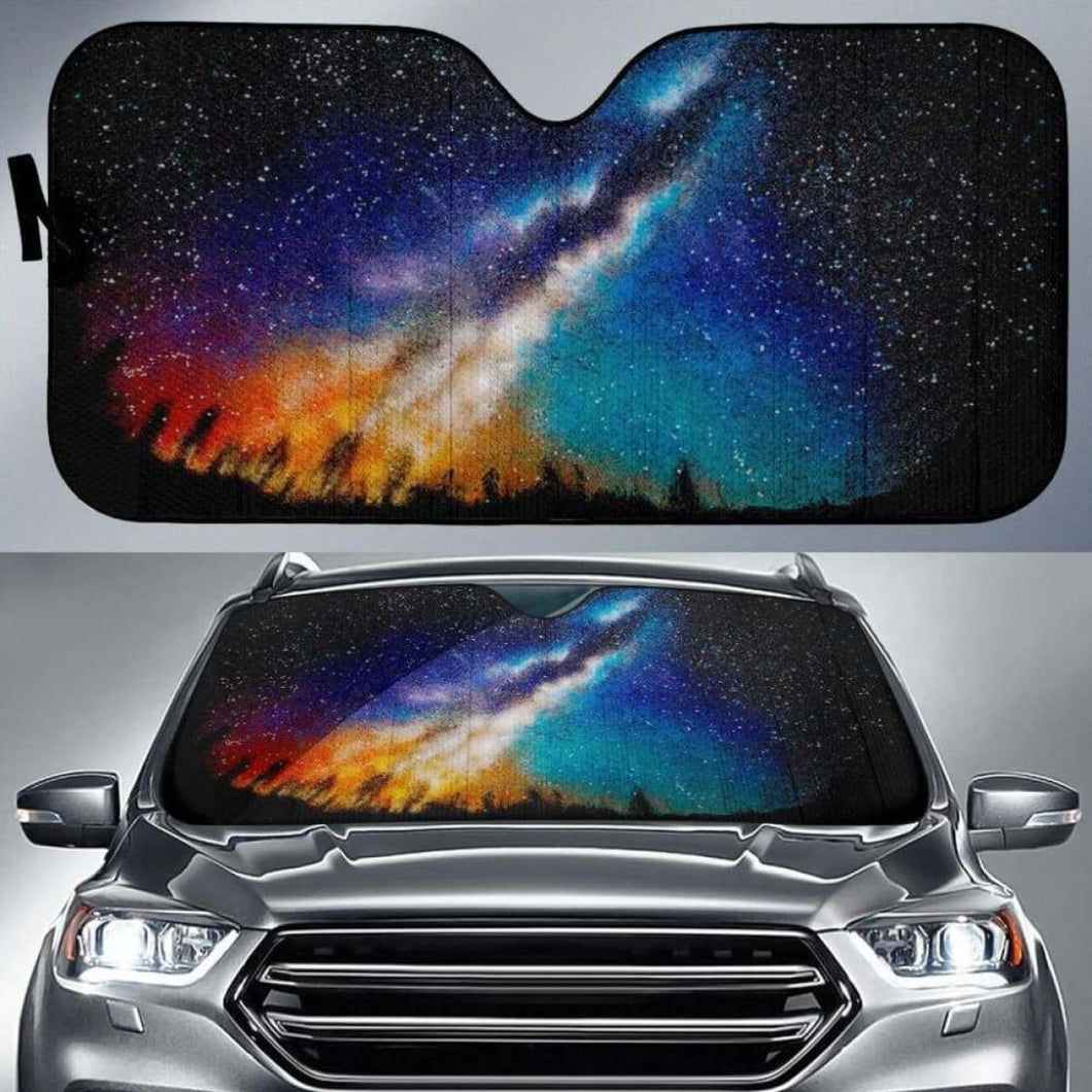 Milky Way Car Sun Shades 918b Universal Fit - CarInspirations