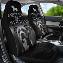Load image into Gallery viewer, Mother Of Pit Bulls Car Seat Covers 231303 Universal Fit - CarInspirations