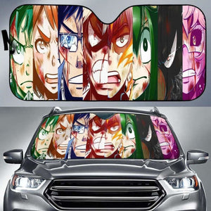 My Hero Academia Auto Sun Shades 1 918b Universal Fit - CarInspirations