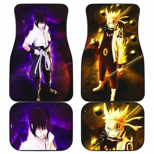 Naruto Car Floor Mats Universal Fit 051512 - CarInspirations