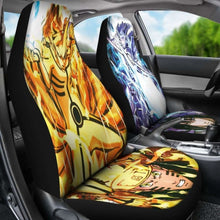 Load image into Gallery viewer, Naruto Vs Sasuke Car Seat Covers Universal Fit 051012 - CarInspirations