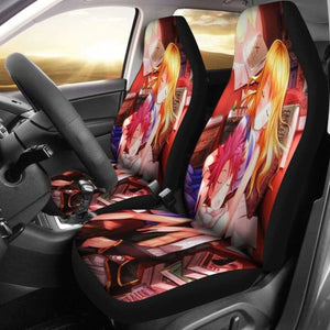 Natsu And Lucy Car Seat Covers 1 Universal Fit 051012 - CarInspirations