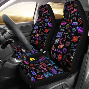 Neon Seat Covers 101719 Universal Fit - CarInspirations