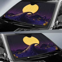 Load image into Gallery viewer, Nightmare Before Christmas Car Sun Shades 918b Universal Fit - CarInspirations