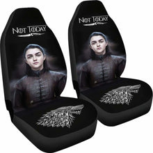 Load image into Gallery viewer, Not Today Arya Stark Car Seat Covers Universal Fit 051012 - CarInspirations