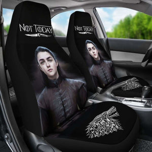 Not Today Arya Stark Car Seat Covers Universal Fit 051012 - CarInspirations