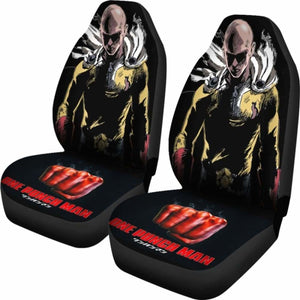 One Punch Man 2019 Car Seat Covers Universal Fit 051012 - CarInspirations