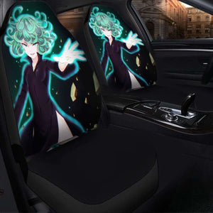 One Punch Man Tatsumaki Seat Covers 101719 Universal Fit - CarInspirations