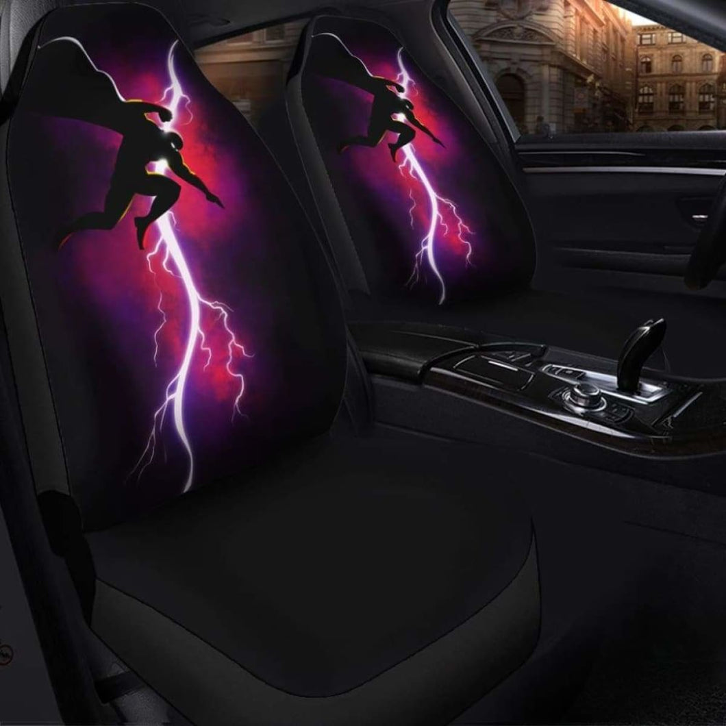 One Punch Man Thor Seat Covers 101719 Universal Fit - CarInspirations