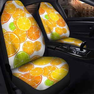 Orange Seat Covers 101719 Universal Fit - CarInspirations